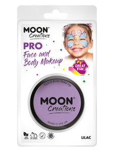 Moon Creations Pro Face Paint Cake Pot, Lilac