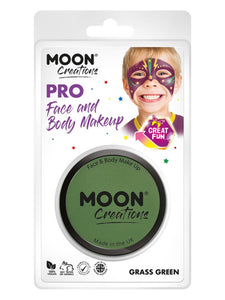 Moon Creations Pro Face Paint Cake Pot, Green