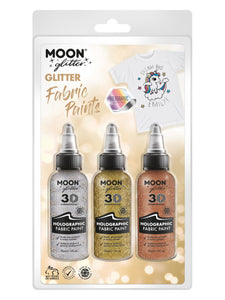 Moon Glitter Holographic Glitter Fabric Paint,