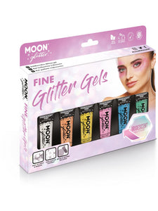 Moon Glitter Iridescent Glitter Gel, Assorted
