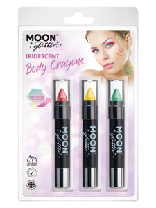 Moon Glitter Iridescent Body Crayons,