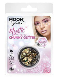 Moon Glitter Mystic Chunky Glitter, Mixed Colours