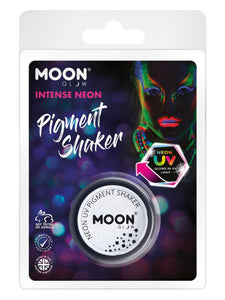 Moon Glow Intense Neon UV Pigment Shakers, White
