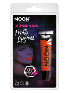 Moon Glow Intense Neon UV Fruity Lipgloss, Orange