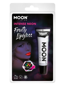 Moon Glow Intense Neon UV Fruity Lipgloss, White