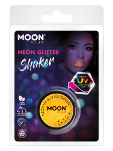 Moon Glow - Neon UV Glitter Shaker, Golden