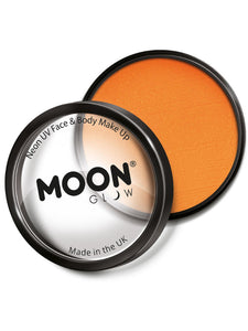 Moon Glow Pro Intense Neon UV Cake Pot, Orange