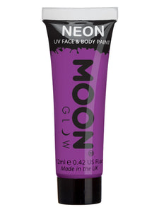 Moon Glow Intense Neon UV Face Paint, Purple
