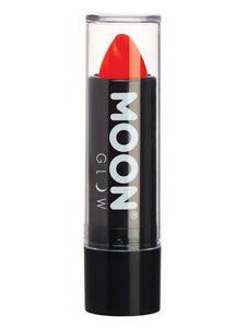 Moon Glow Intense Neon UV Lipstick, Red