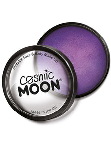 Cosmic Moon Metallic Pro Face Paint Cake Pots, Pur
