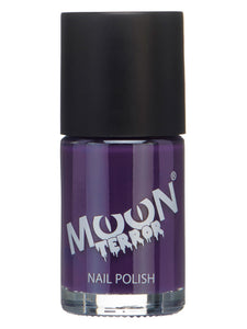 Moon Terror Halloween Nail Polish, Purple