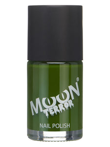 Moon Terror Halloween Nail Polish, Green
