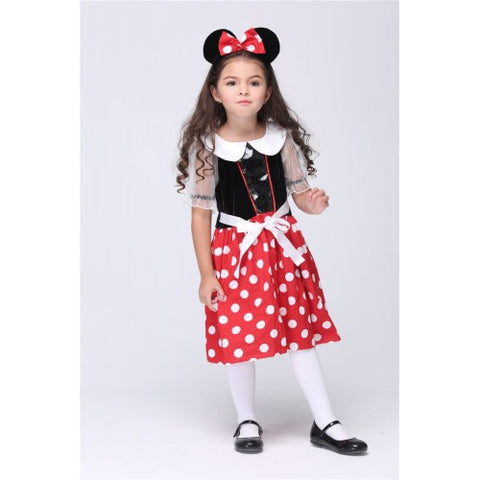 Little Minnie Mouse With Headband