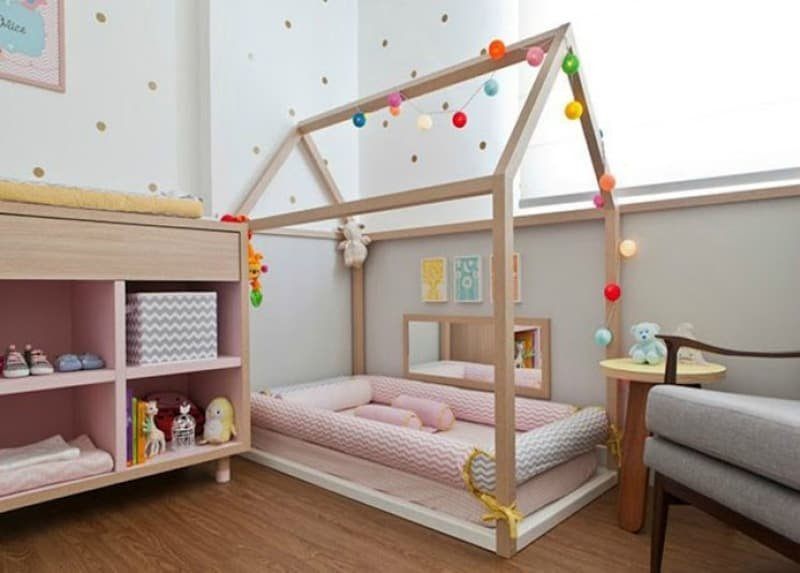 decor chambre montessori