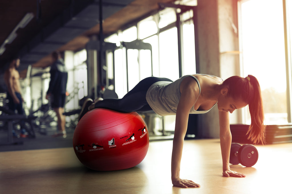 Why You Should Be Using a Fitness Ball for Full-Body Strengthening