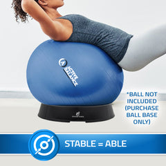 exercise ball base