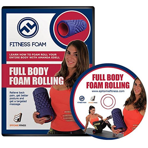 Epitomie Fitness Full Body Foam Rolling DVD - Exercises & Training Videos On How To Use Foam Rollers For Self-Myofascial Relief, Recovery & Core Strengthening (NTSC Version) - epitomiefitness