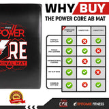 Power Core Ab Mat - epitomiefitness