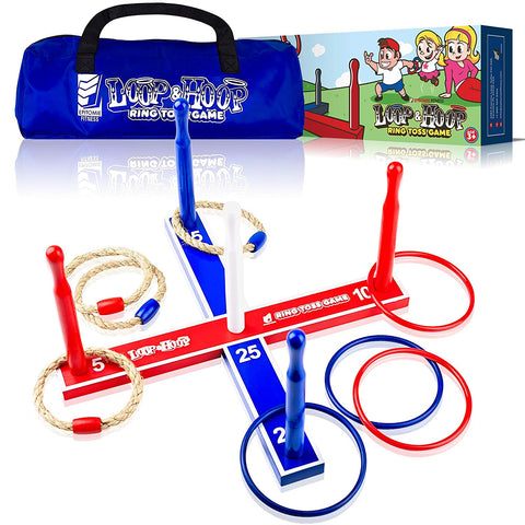 Loop & Hoop Ring Toss Game - epitomiefitness