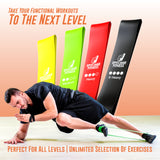 Resistance Bands Set of 4 - epitomiefitness