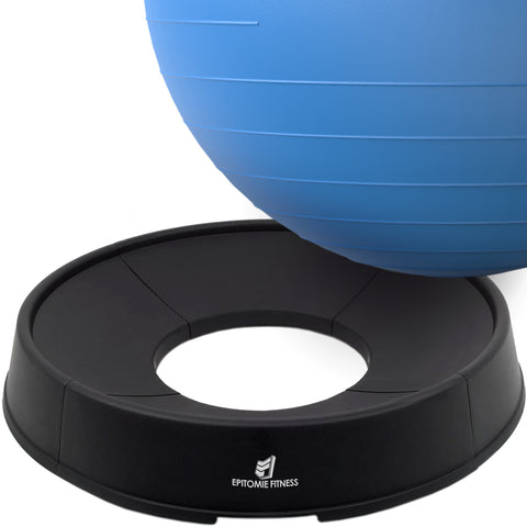 Exercise Ball Base for Stability - Stand For Balance Balls Fits Balls from 55cm to 75cm