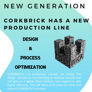 New Production Line _ CORKBRICK