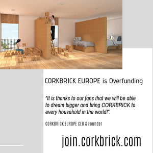 CORKBRICK EUROPE Crowdfunding is Overfunded - Heading to 500 Investors!