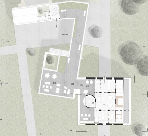 cokrbirck-project renovation-architecture-green roof