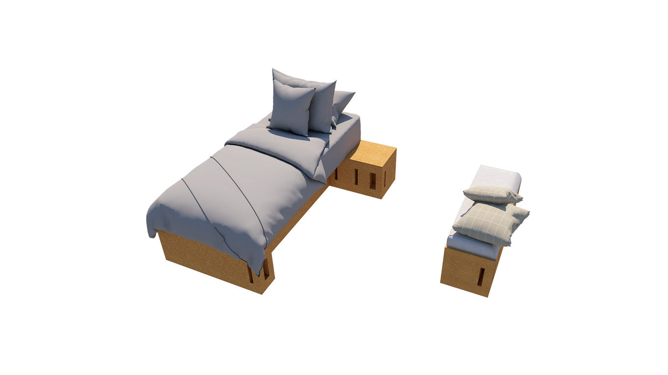 Porto Pack — Single bed city pack - Corkbrick.RO