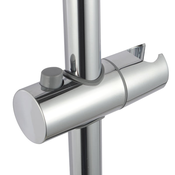 Asker - Chrome Round 5 Functions Column + Hand Held Shower