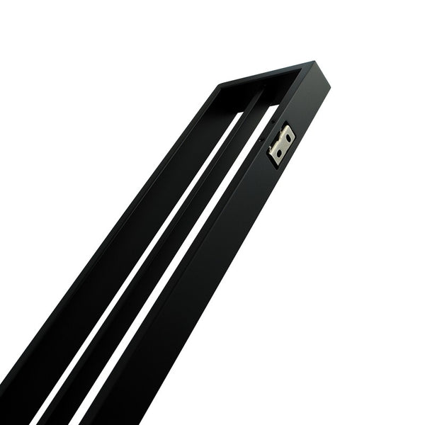 Odda - Matt Double Towel Rail [600mm] - Luksus Australia - Black Tapware, Gold Tapware, Chrome Tapware, Black Fittings and Fixtures, Black Sinks