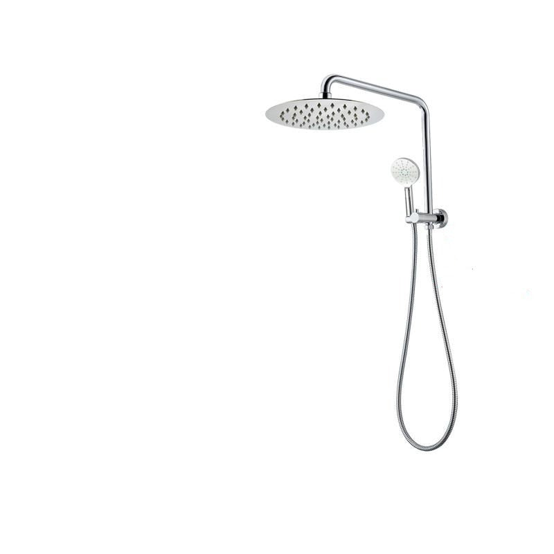 Asker - Round Chrome Shower Station [300mm]