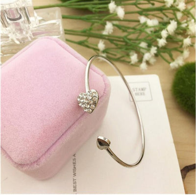 Crystal Heart - Bracelet