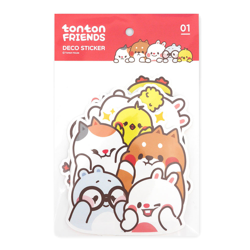 Tonton Friends deco sticker 01