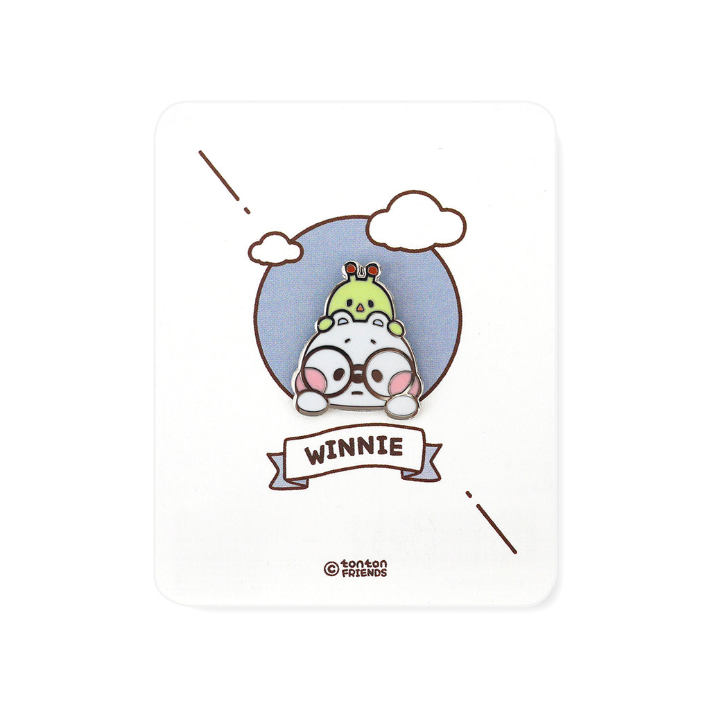 Winnie Face Badge