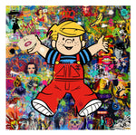 Dennis the Menace by Helt Sort