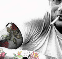 Tattoo Art M JD James Dean The Giant, 2013 Photography 75 x 80 x 0.3 cm