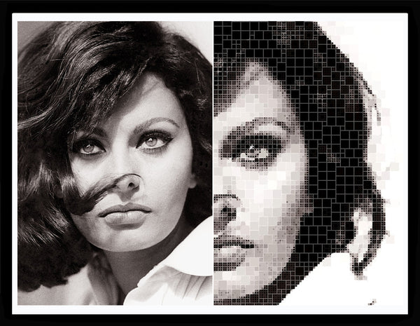 Bea Simpson - Sophia Loren 6, 2017 Digital Art 66 x 90 cm