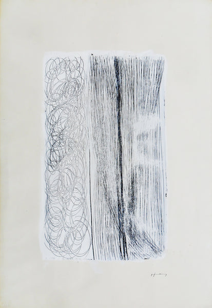 Hans Hartung Untitled, 1955 Drawing 73 x 51 cm