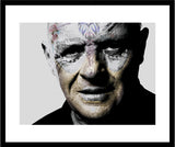 M  Tattoo Art - SAH Sir Philip Anthony Hopkins - MMXVII - I, 2016 Photography 60 x 80 cm