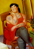 M  Tattoo Art - Homage Botero - The colombian based, 2017 Photography 100 x 70 cm