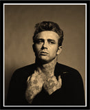 M  Tattoo Art - James Dean JD - Vintage MMXVII, 2017 Photography 87 x 70 cm