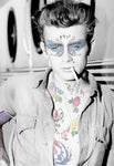 M  Tattoo Art - JD James Dean, 2016 Photography 95 x 65 cm