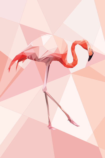 Vita Sun - Flamingo, 2017 Digital Art 90 x 60 cm