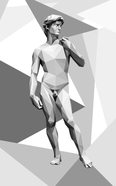Vita Sun - David, 2017 Digital Art 130 x 80 cm