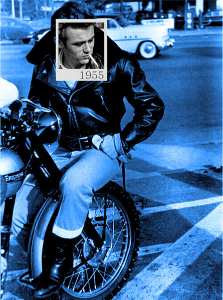 Bea Simpson - James Dean 1955, 2015 Photography 95 x 70 cm - Gilardi Art Gallery