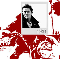 Bea Simpson - James Dean 1931, 2015 Photography 70 x 70 cm - Gilardi Art Gallery
