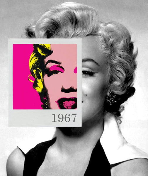 Bea Simpson - Marilyn Monroe 1967, 2015 Photography 95 x 80 cm - Gilardi Art Gallery
