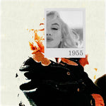 Bea Simpson - Marilyn Monroe 1955, 2016 Photography 75 x 75 cm - Gilardi Art Gallery