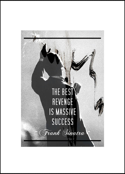 Christian Quisenberry - The Best Revenge, 2015 Print 70 x 50 cm